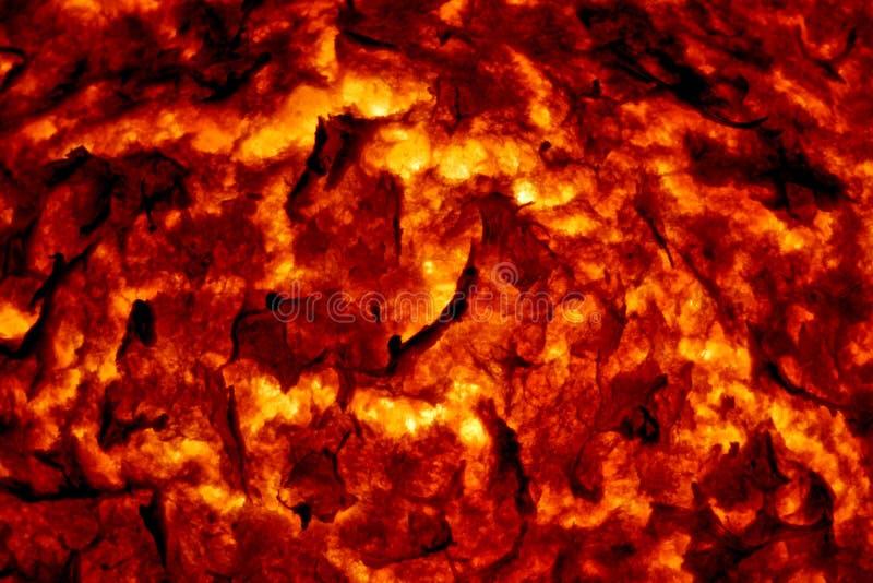 Lava fundida caliente 3 fotos de archivo libres de regalías