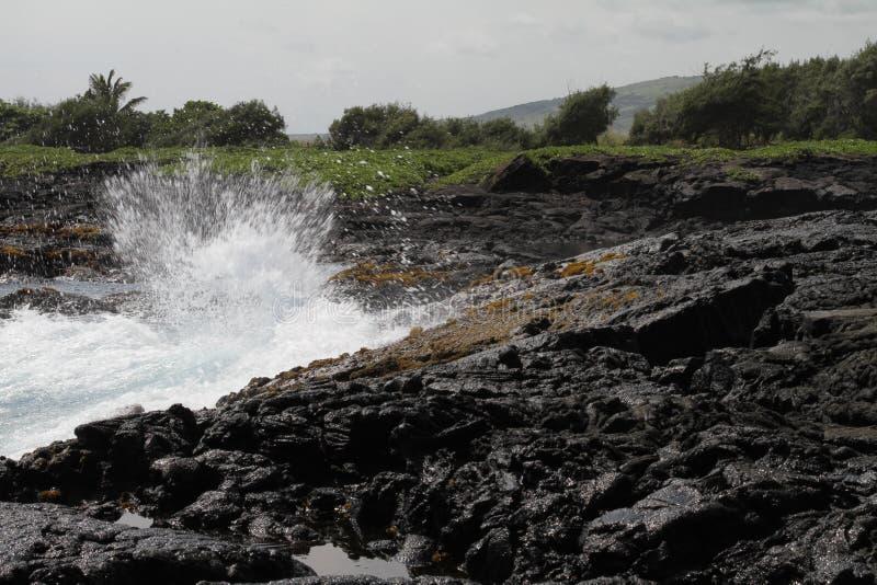 Lava havaiana fotos de stock royalty free