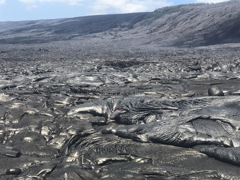 Lava hawaiana fotografia stock libera da diritti