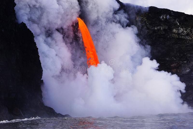Lava in Hawaii stockfoto