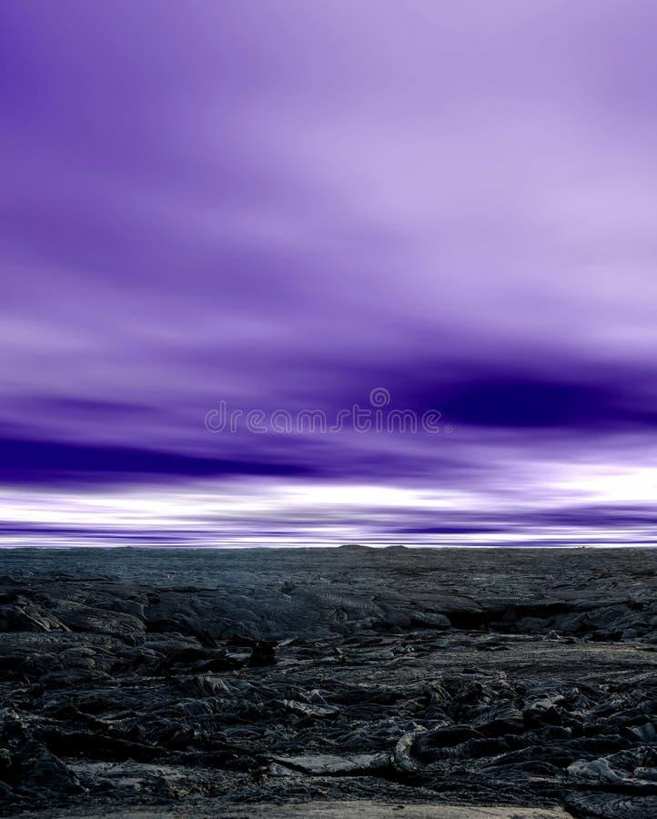 Lava Kilauea Vulkan stockfoto