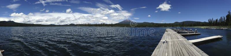 Lava Lake em Oregon foto de stock
