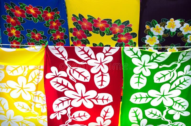 Lava-lava - sarong royaltyfri foto