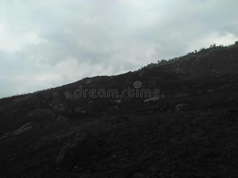 Lava rock stock image