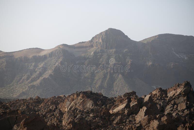Lava Rock volcánico negro fotos de archivo