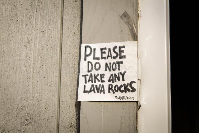 Lava Rocks image libre de droits