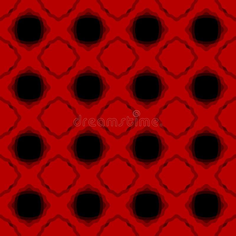 Lava Seamless Geometric Background quente ilustração do vetor