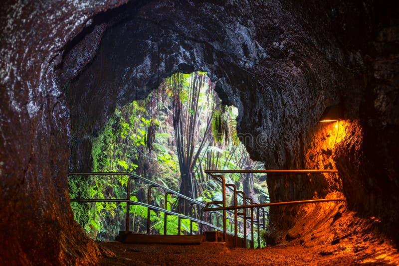 Lava Tube stockbilder