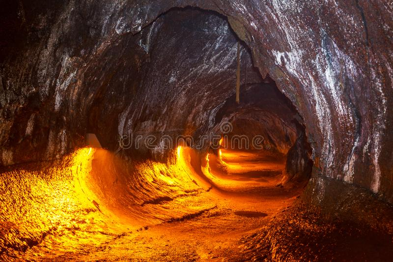 Lava Tube foto de stock royalty free