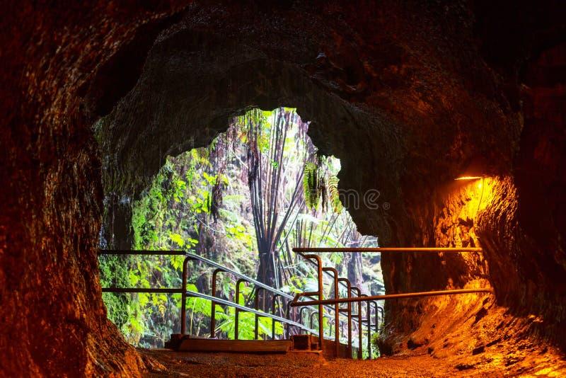 Lava Tube lizenzfreies stockfoto