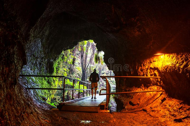 Lava Tube stockfotografie