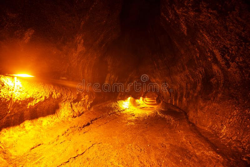 Lava Tube stock foto