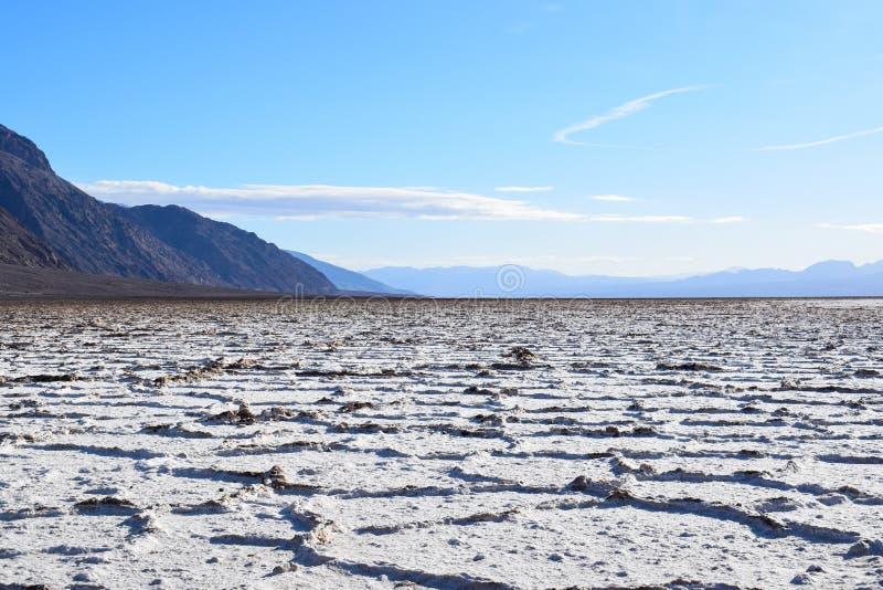 Lavabo de Badwater en el Death Valley imagen de archivo libre de regalías