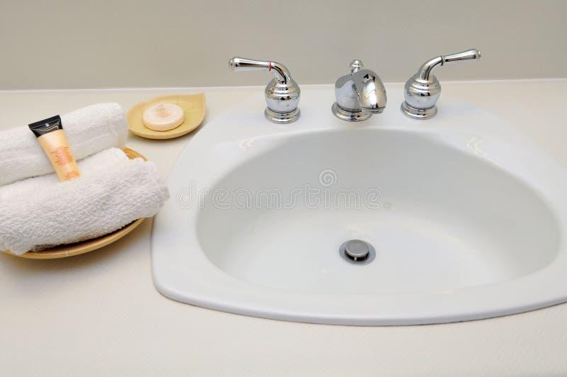 Lavabo della mano per la stazione termale fotografia stock