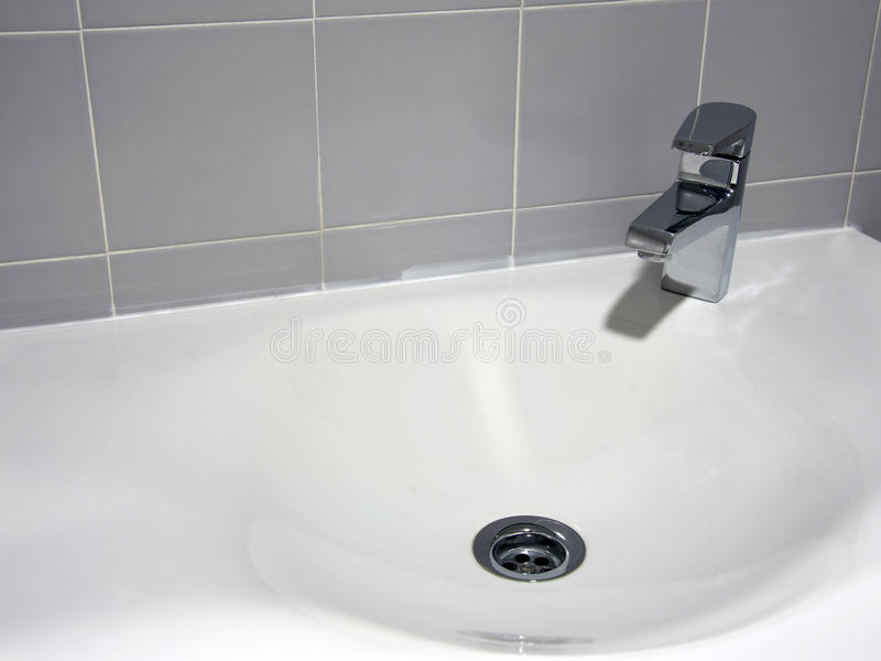 Lavabo en céramique de main photos stock