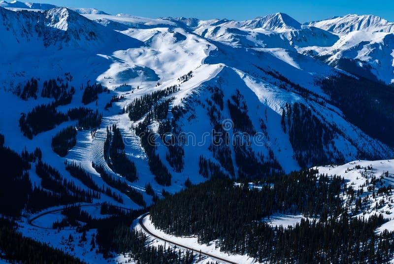 Lavabo Ski Resort del Arapahoe fotografía de archivo libre de regalías