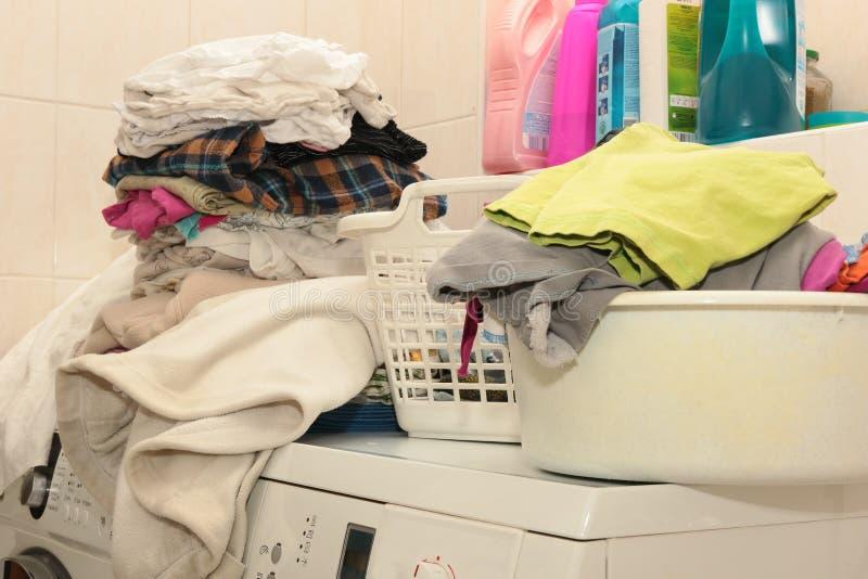 Lavadero lavado imagen de archivo libre de regalías