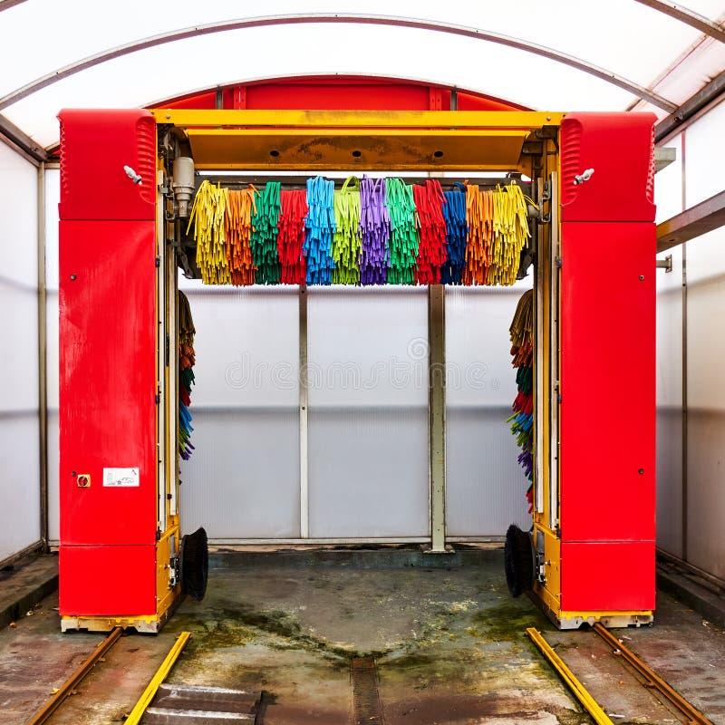 Lavado automático de coches foto de archivo libre de regalías