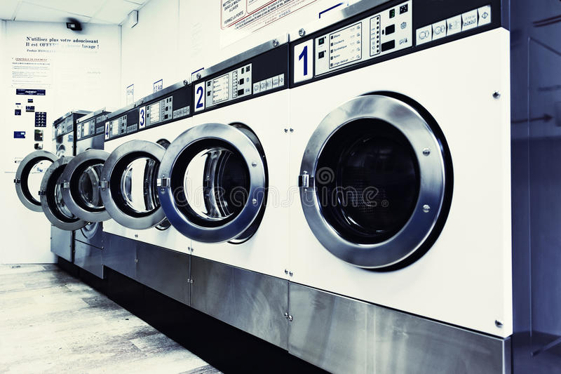 Lavadoras fotografía de archivo libre de regalías