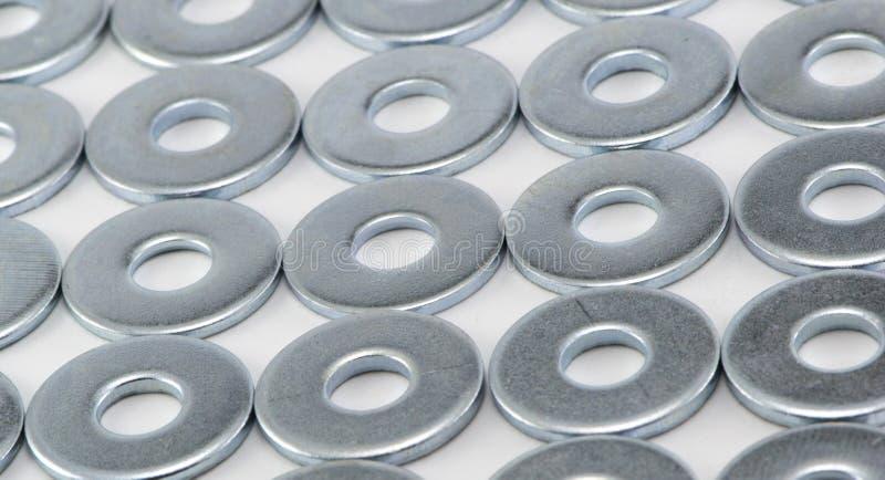 Lavadoras del metal fotos de archivo libres de regalías
