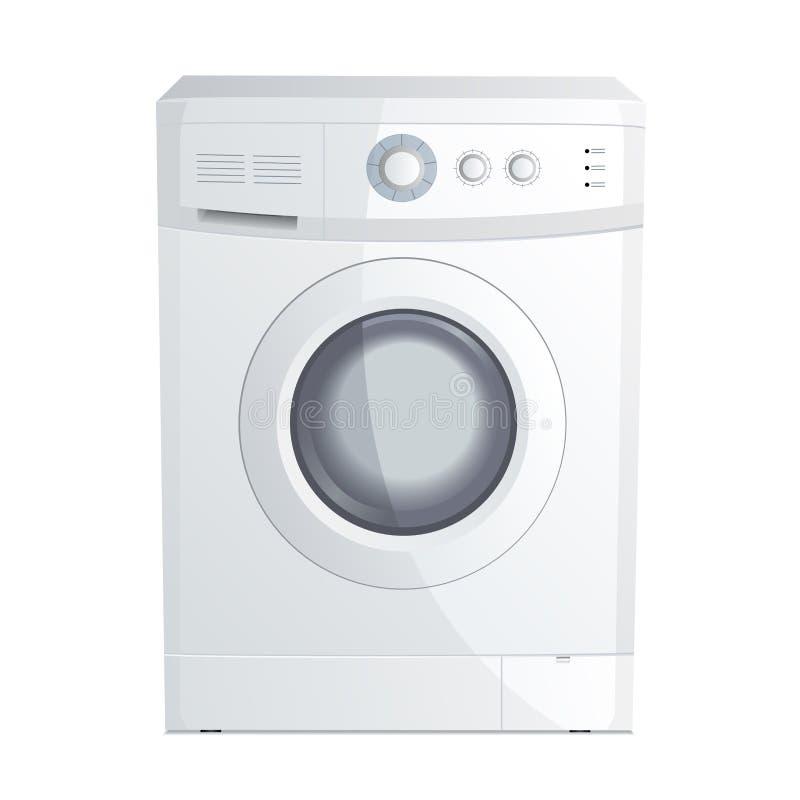 lavage de machine illustration stock