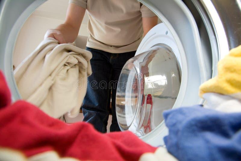 lavage de préparation images stock