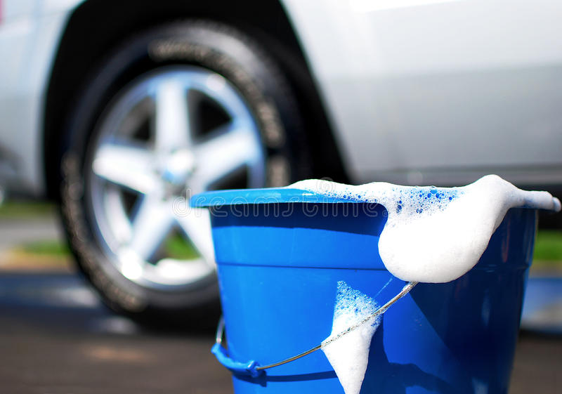 Lavage de voiture photographie stock