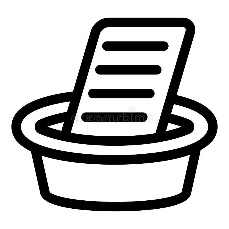 Lavage sur l'icône de bureau en métal, style d'ensemble illustration de vecteur