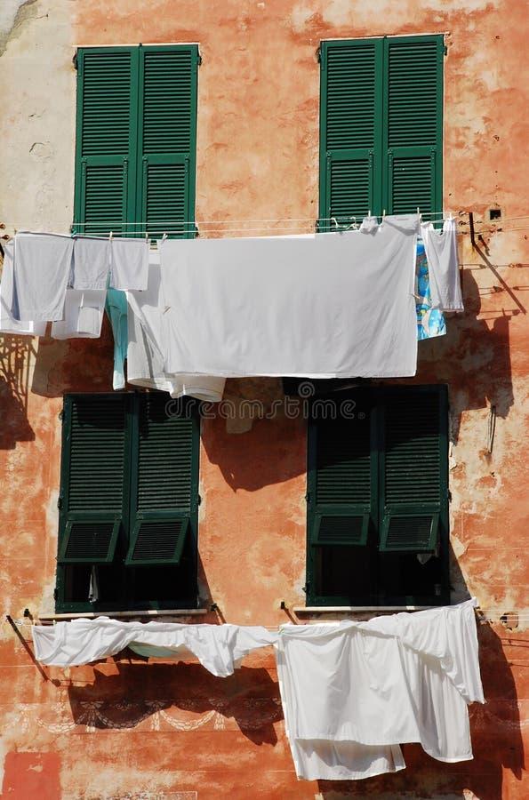 Lavage, Vernazza 1 image stock