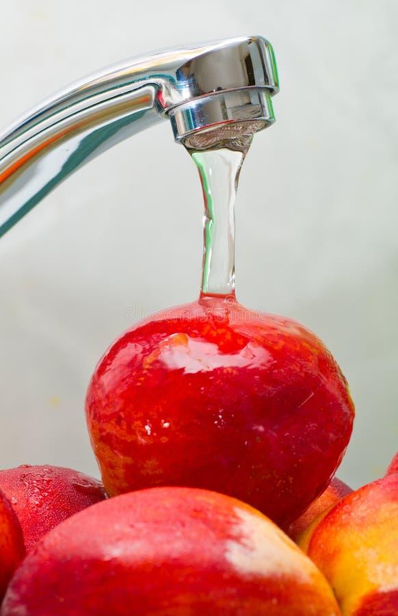 Lavagem da fruta imagens de stock