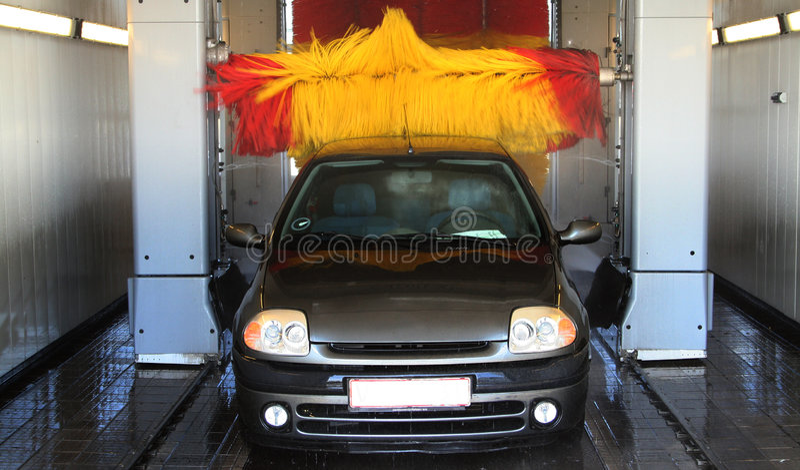 Lavagem de carro imagem de stock royalty free