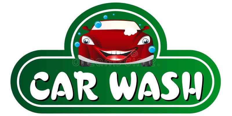 Lavagem de carro ilustração stock