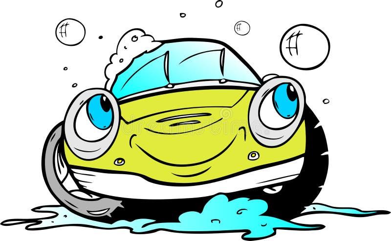 Lavagem de carro ilustração do vetor