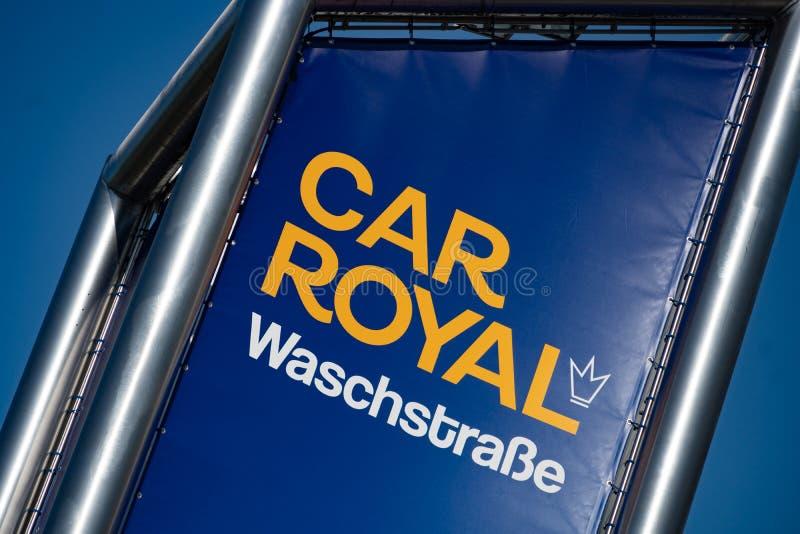 Lavagem real do carro auto fotografia de stock royalty free