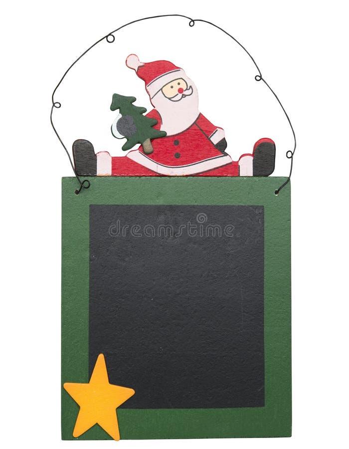 Lavagna di Natale immagini stock libere da diritti