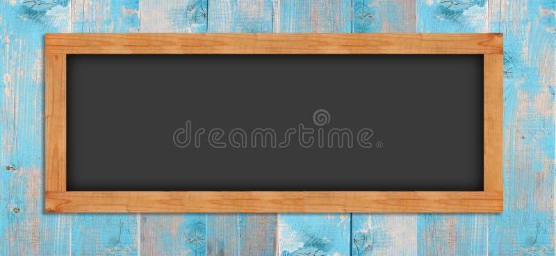 Lavagne sulla parete di legno fotografia stock libera da diritti