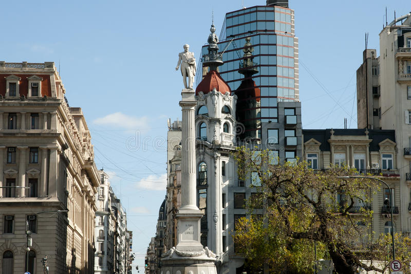 Lavalle kwadrat Buenos Aires, Argentyna - obraz royalty free