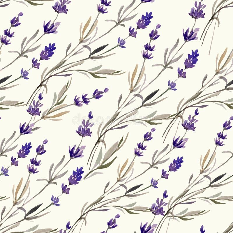 Lavanda decor4 de Provence ilustración del vector