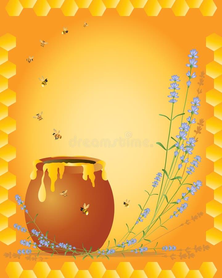 Lavanda y miel libre illustration