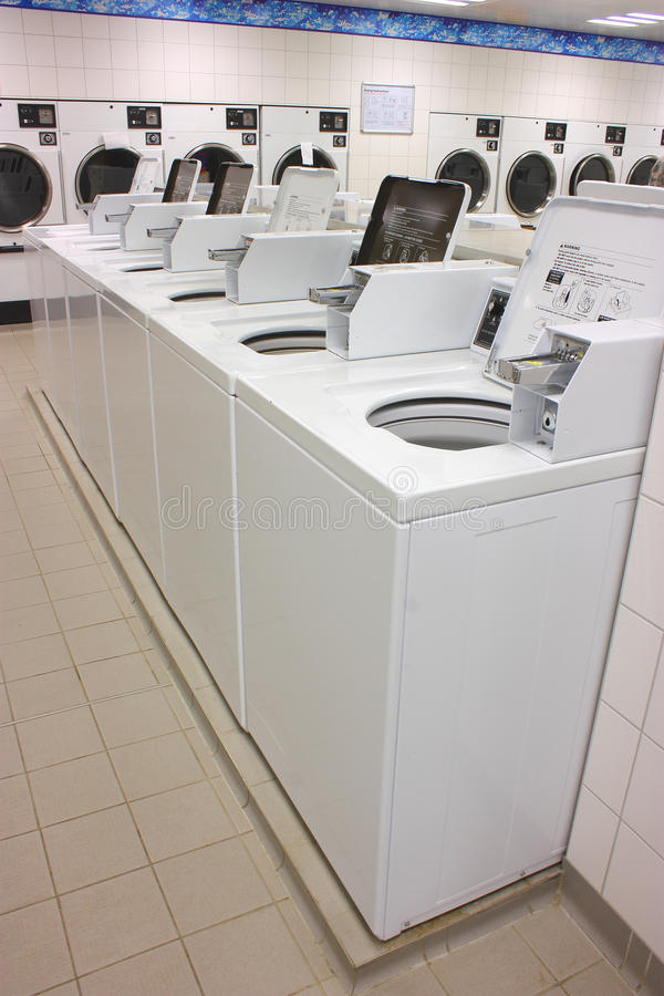 Lavandería-secadores imagen de archivo libre de regalías