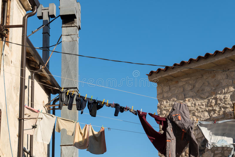 lavanderia fotografia stock