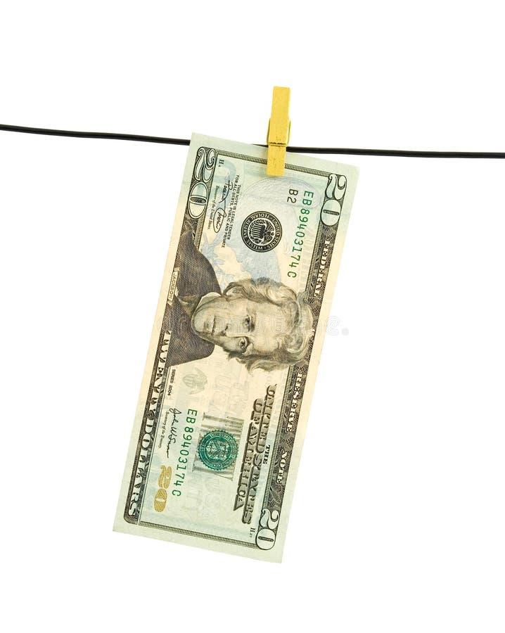 Lavanderia do dinheiro imagens de stock
