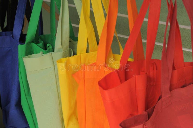 Lavanderia do saco de compras imagem de stock