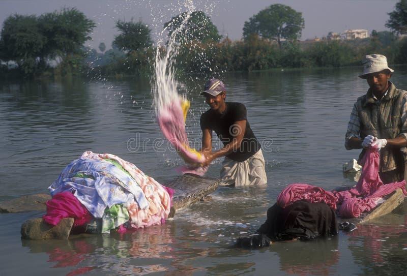 Lavanderia indiana fotografie stock libere da diritti