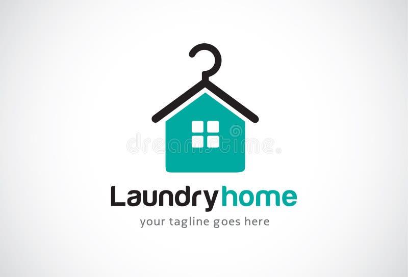 Lavanderia Logo Template Design Vector domestico, emblema, concetto di progetto, simbolo creativo, icona royalty illustrazione gratis