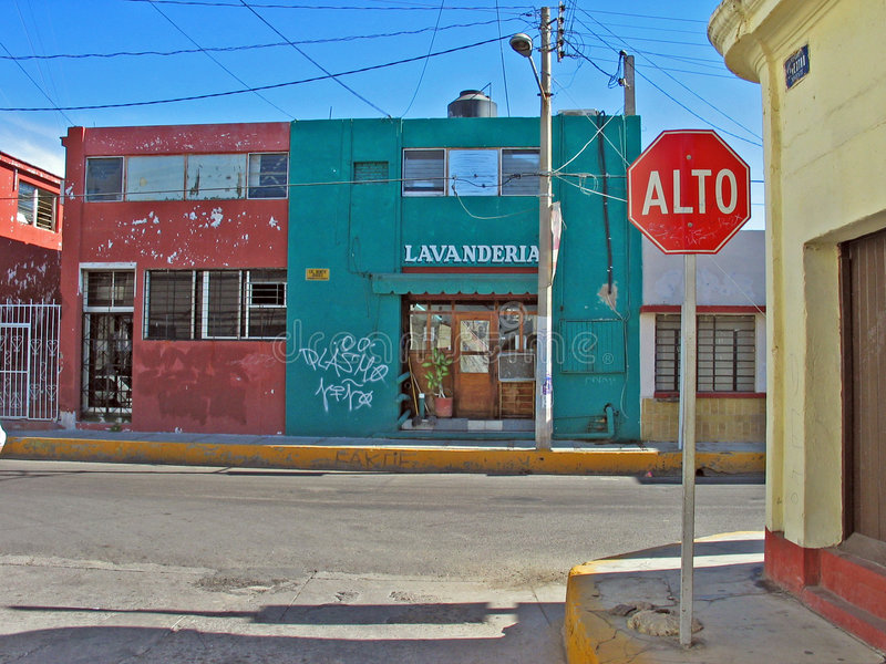 lavanderia mazatlan Μεξικό στοκ φωτογραφία με δικαίωμα ελεύθερης χρήσης