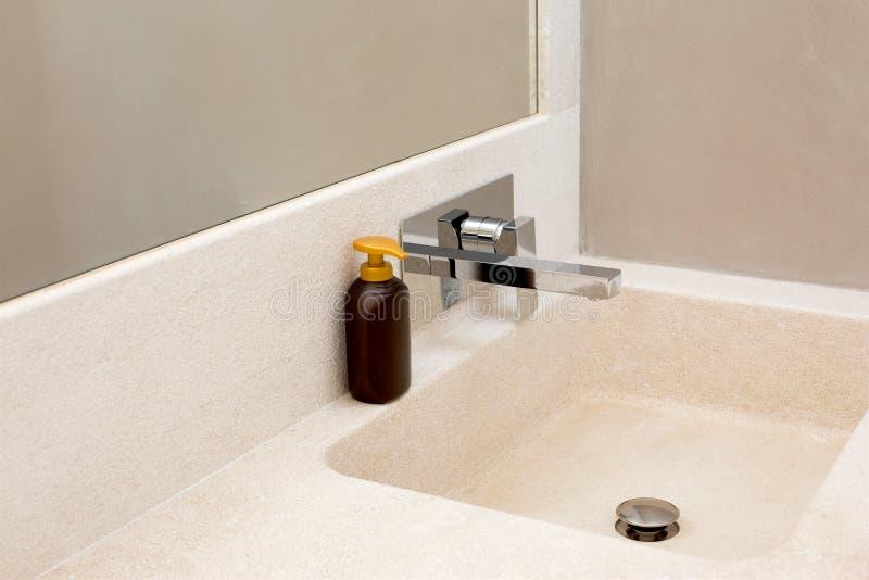 Lavandino del bagno fotografie stock