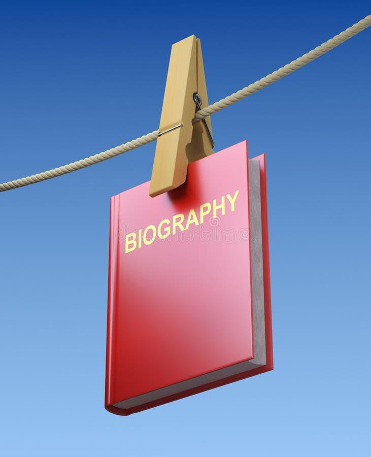 Lavare e di biografia royalty illustrazione gratis