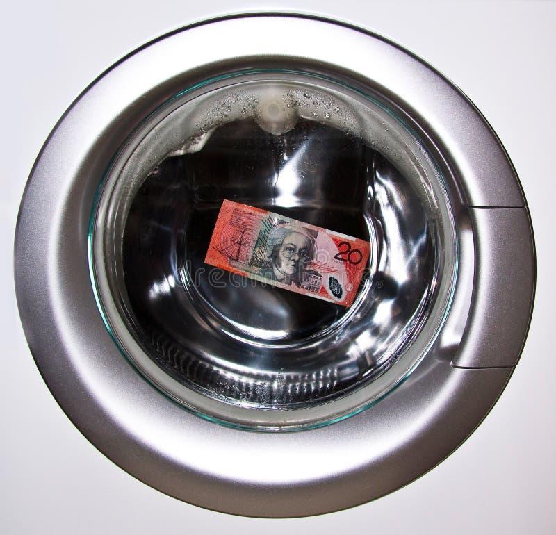 Lavare e di soldi 1 immagini stock