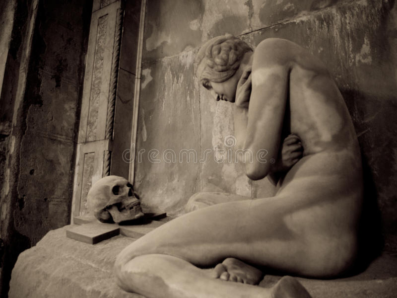 Lavarello的坟墓 库存图片